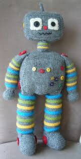 Knitted robot