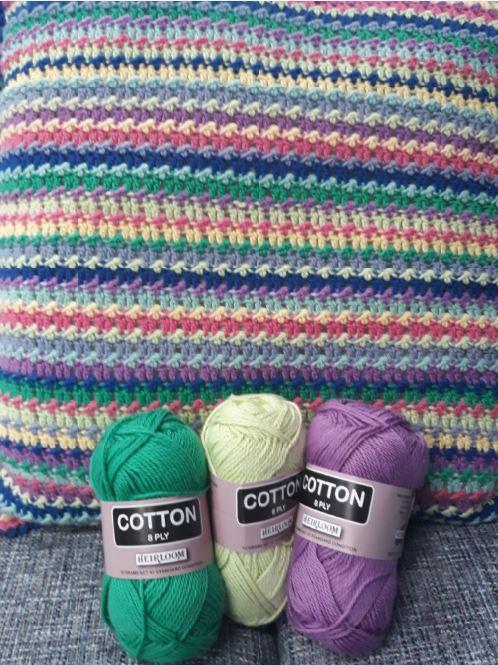 Texture Stripe Cushion Cover