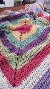 8 ply cotton blanket