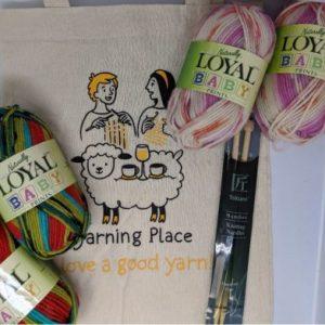 Knitting kit for kids